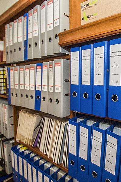 Onze archieven