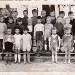 Bree-1937-38-Bewaarschool—juff-Veestraeten